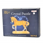 3D 100-Piece Crystal Horse Puzzle