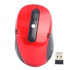 2,4 GHz Wireless-High-Frequency 800/1200/1600dpi Optical Mouse - Rot + Schwarz (2 x AAA)