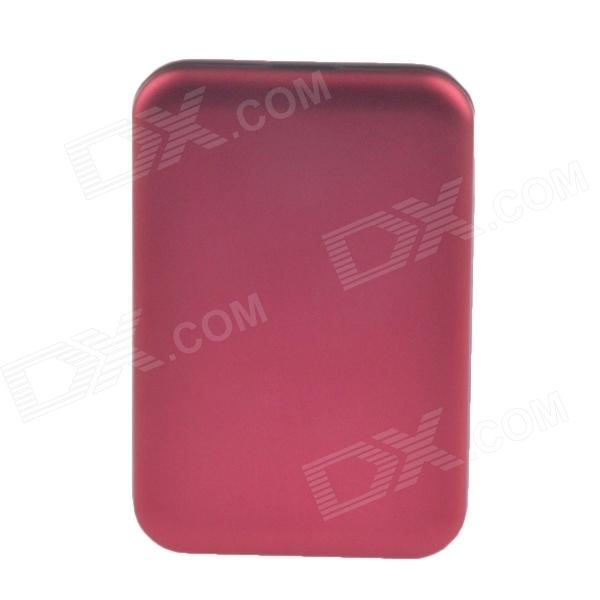 "High-Speed USB 3.0 Hard Disk Drive Enclosure Case for 2.5"" SATA HDD - Red"