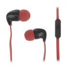 YISON CX580 Wired In-ear Stereo Headset Earphones w/ Microphone for Mobile Phone - Red