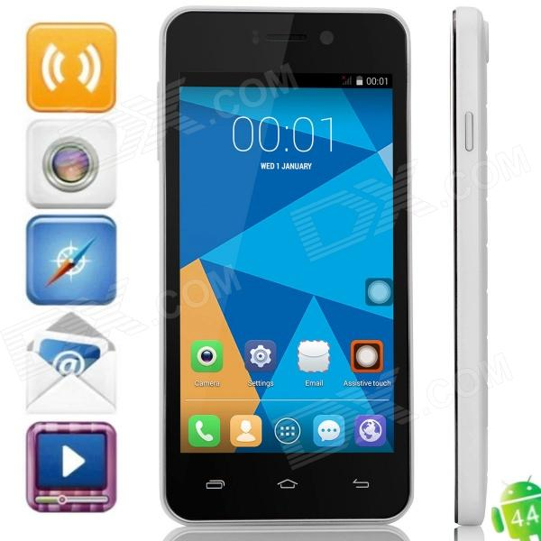 DOOGEE VALENCIA DG800 Quad-Core Android 4.4.2 Bar Phone w/ 4.5 IPS, Back Touch, GPS, OTA велосипед stinger valencia 2017