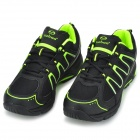 TIEBAO TIEBAO-B1285 Recreational Bicycle Cycling Shoes - Black + Green (Size 38)