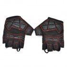 Spakct SGTOP1 Cycling Dacron + Nylon + Polyurethane Half-Finger Gloves - Black (XL / Pair)