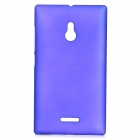 Matte Protective Plastic Back Case for Nokia XL - Deep Blue