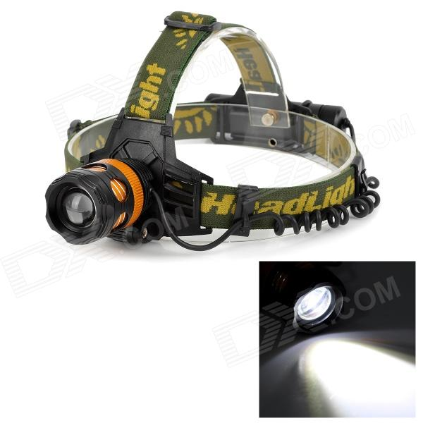 BL-6813 LED 400lm 3-Mode White Zooming Headlamp - Black + Golden (1 x 18650 / 3 x AAA) yp 3005 450lm 3 mode white zooming headlamp black 4 x aa