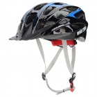 BaseCamp 023 Protective Outdoor Sports PC Helmet for Cycling - Black + Sky Blue
