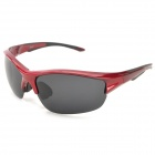 Outdoor Cycling Polarized UV400 Protection Sunglasses Goggles - Red + Grey