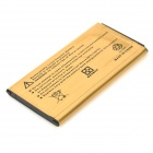 yi-yi høy kapasitet 3.8V 3500mAh Li-ion batteri for Samsung Galaxy S5 - golden (2 stk)