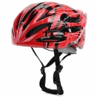 Veobike V-05 Protective Outdoor Sports PC Helmet for Cycling - Red