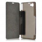 ROCK TZ - SNZ1 Suojaava PC + PU Case for Sony Xperia Z1 - Musta
