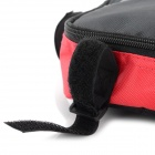 Roswheel Outdoor Fashion Top Tube Triangle Bag - Black + Red
