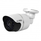 Cotier N8B-Mini Dual USB 1080P 8-CH NVR Surveillance System w/ 8 Outdoor IP Cameras - White + Black