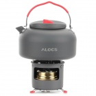 ALOCS CW-K04 PRO Handy Portable Outdoor Boiler w/ Stove for Camping - Black + Bronze
