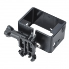 Portable Fixed Frame Case w/ Screws + Push Buckle for GoPro - Black