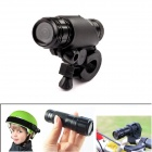 PANNOVO Professional Hands-free 2.0 MP Sport Camera Mini Flashlight 720P Aluminum Alloy Sport DV