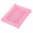 MAIWO KP004 2.5'' Hard Disk Anti-Shock Protective Silicone Cover Case - Pink