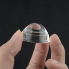38mm*19.5mm Glass Lenses for Flashlight - Transparent (2PCS)