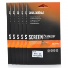 DULISIMAI Protective ARM Matte Screen Film Guard Protector for HTC One M8 - Transparent (6 PCS)