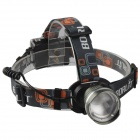 SingFire SF-638 Cree XM-L T6 750lm 3-Mode White Zooming Headlamp - Grey (3 x AA)
