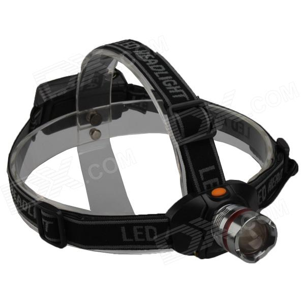SingFire SF-634 LED 250lm 3-Mode White Zooming Headlamp - Grey + Black (3 x AAA)