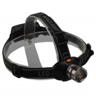SingFire SF-634 CREE XR-E Q5 250lm 3-Mode White Zooming Headlamp - Grey + Black (3 x AAA)