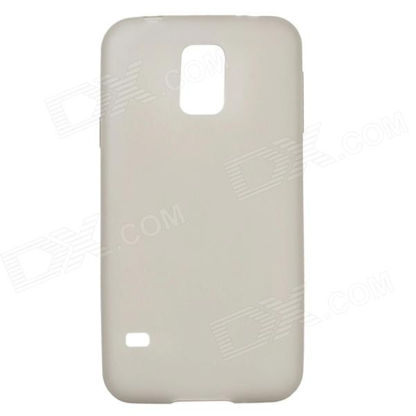 Protective Ultrathin TPU Matte Back Case Cover for Samsung Galaxy S5 - Grey