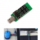 CE-69  Dual  LED Display USB Power Charger Data Transmit Current Voltage Tester