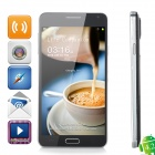 "W-5000 Android 4.2.9 Quad-core WCDMA Bar Phone w/ 5.0"" Screen, Wi-Fi and GPS - Black"