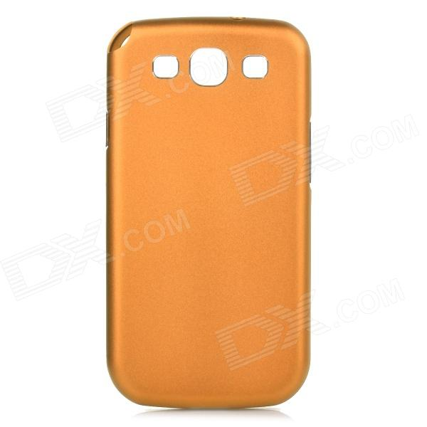 AMT-SJG-014 Protective Push-to-open Aluminum Alloy Back Case for Samsung Galaxy S3 - Golden