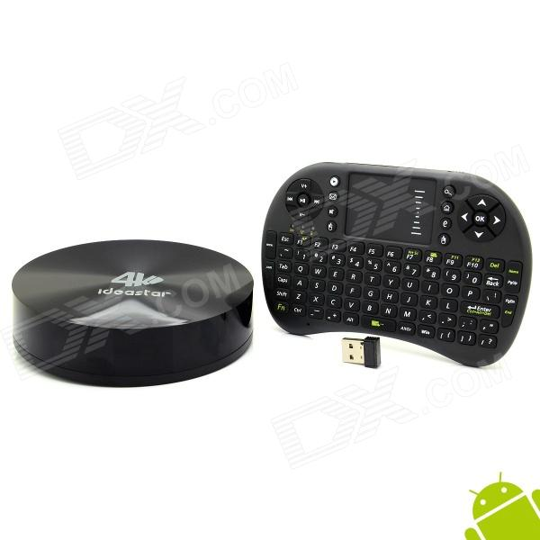 Ideastar S82 4K Quad-Core Android 4.4.2 Google TV-spiller m / 2 GB RAM, 8 GB ROM, Mini Keyboard, XBMC