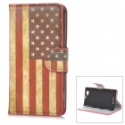 Buy YIYI Retro US Flag Pattern Flip-open PU Case Holder + Card Slot Sony Xperia Z1 Mini / D5503