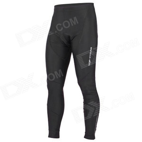 TOP CYCLING SAK366 Outdoor Cycling Polyester + Spandex Pants - Black (M) глок 38 в москве