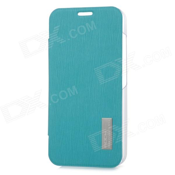 ROCK 651717 Protective PC + PU Case for Moto X Phone - Sky Blue