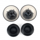 Replacement Plastic 3D Joystick Cap w/ Anti-slip Silicone Cover for XBOX ONE (2 Pairs)