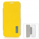 ROCK 651717 Protective PC + PU Case for Moto X Phone - Lemon Yellow