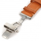 Chimaera CY-B-22 22mm / 20mm in vera pelle Watch Band Strap & fibbia - marrone