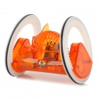Shaftless Remote Control Running Wheel Toy - Orange