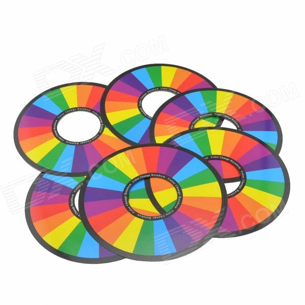 Magic Trick Rainbow Rings - Red + Yellow (6 PCS)