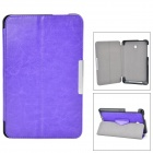 Protective PU Case w/ Stand for ASUS MeMO Pad HD 7 / ME175KG - Purple