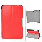 Protective PU Case w/ Stand for ASUS MeMO Pad HD 7 / ME175KG - Red