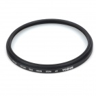 BRODA Universal 67mm smal Multi Coated MC-UV Filter objektiv för kamera - svart