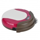Rkk M1 25W Smart Sweeping Mopping Robotic Vacuum Cleaner - Red + White + Coffee (14.4V)