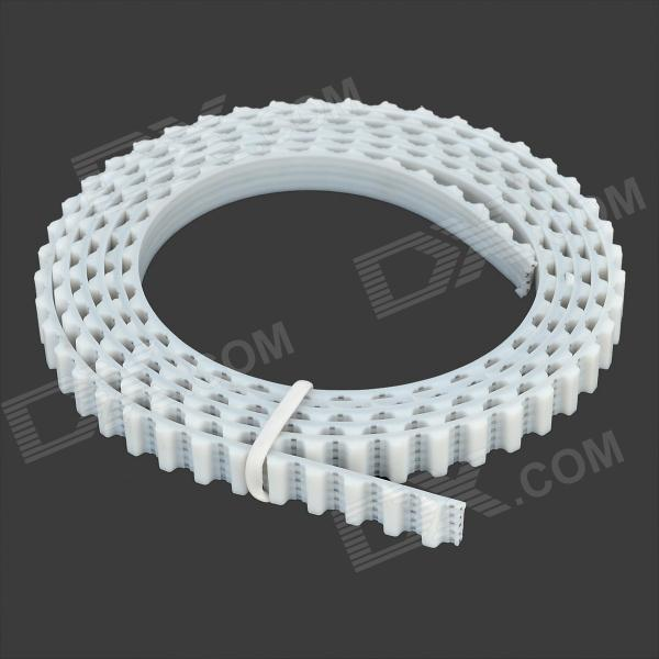 042202 PU Timing Belt for 3D Printer - White
