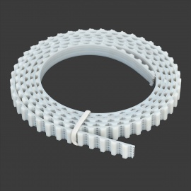 042202 PU Timing Belt for 3D Printer - White (1m)