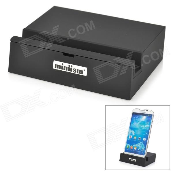 Miniisw MDF1 5V 1000mA Data / Charging Dock Station w/ USB / Micro USB for HTC M8 - Black зарядное устройство activ usb 1000 ma black 15682