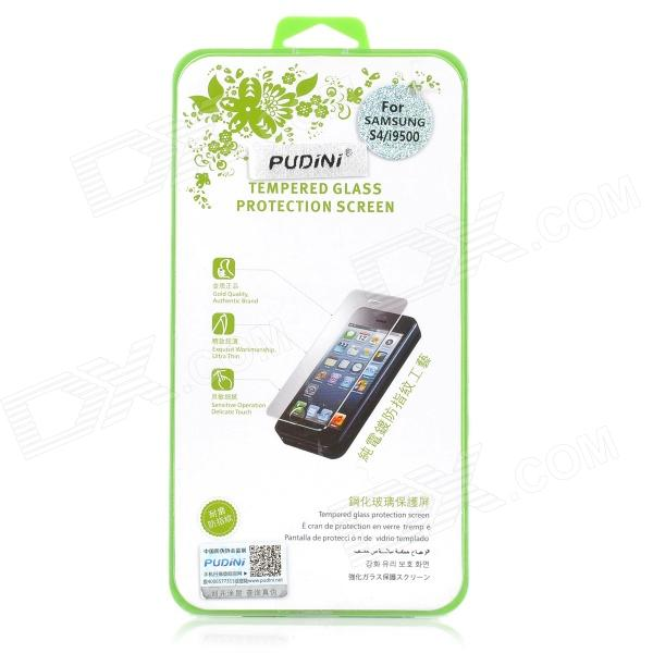 PUDINI Protective 0.4mm Tempered Glass Screen Protector Guard Film for Samsung Galaxy S4 i9500 mocoll arc edge hd screen protective tempered glass film for samsung galaxy s4 i9500 transparent