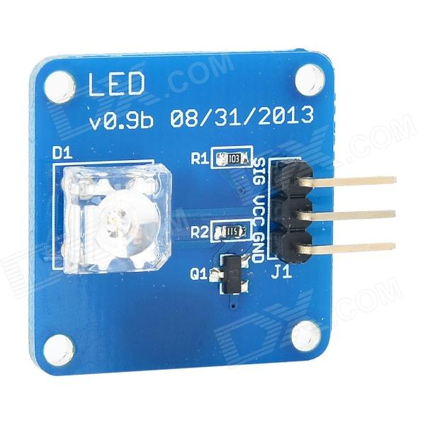 LED V0.9b Green LED Module for Arduino (Works with Official Arduino Boards) potentiometer module for arduino works with official arduino boards