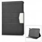 Protective Flip Open PU Case w/ Stand / Auto Sleep for RETINA IPAD MINI - Black