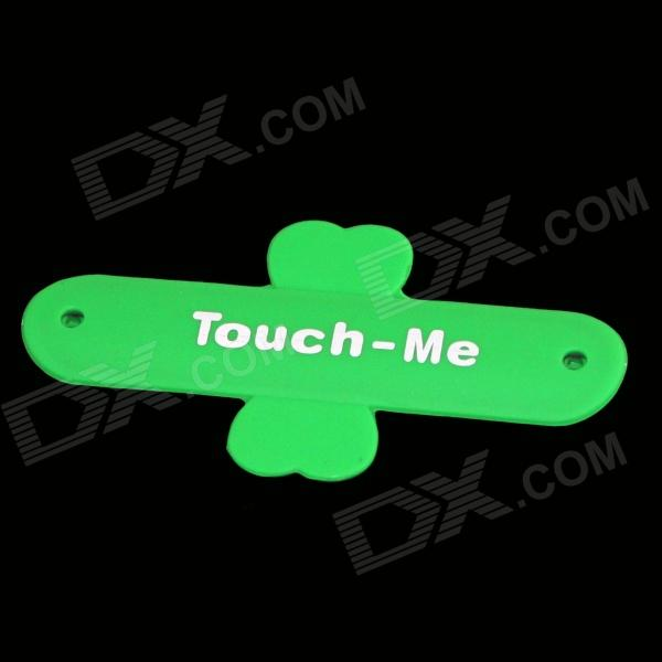 TOUCH-U Portable Silicone Holder w/ 3M Glue - Green