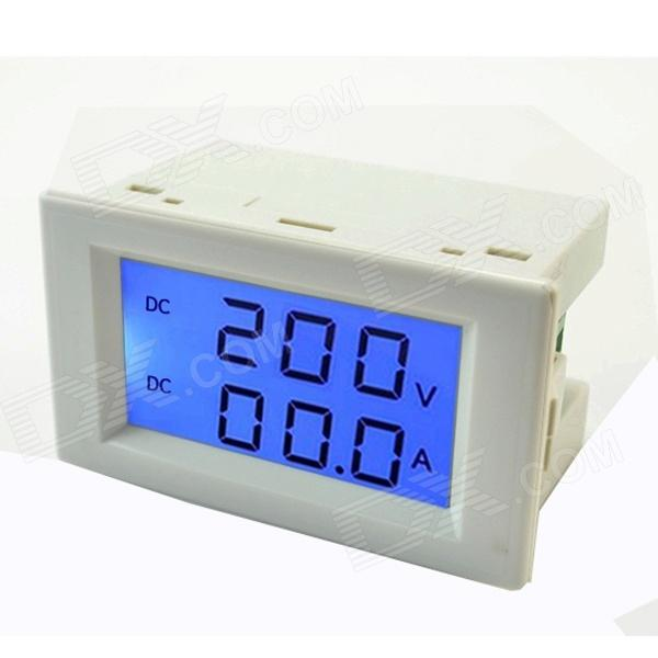 Tai shen TS-3050A LCD digitales voltmeter amperometer (dc 200v / 10a)